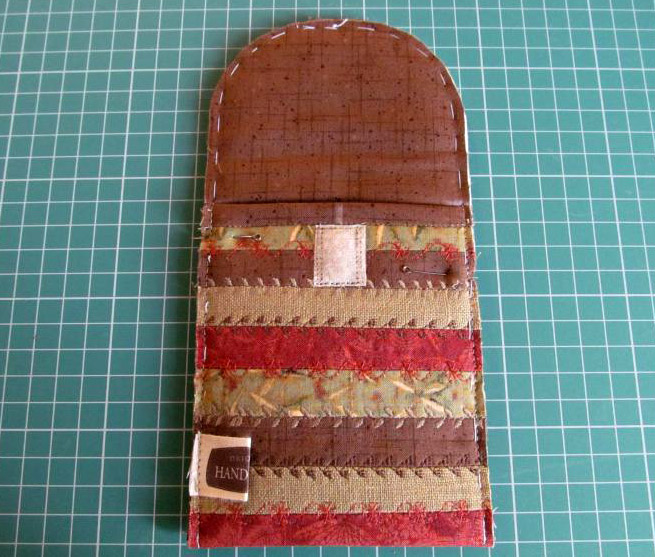 Sew a Purse-Phone Case. Tutorial DIY in Pictures.