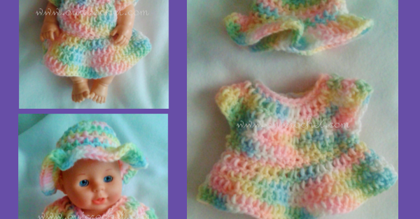 12+ Free Crochet Doll Clothes Patterns | Crochet doll clothes free ... | 314x600