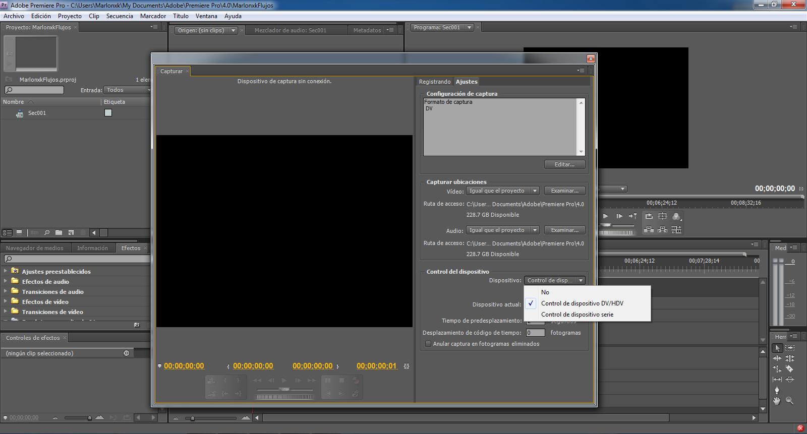 Cómo importar y exportar Videos en Adobe Premiere