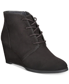 TOMS dupe wedge bootie