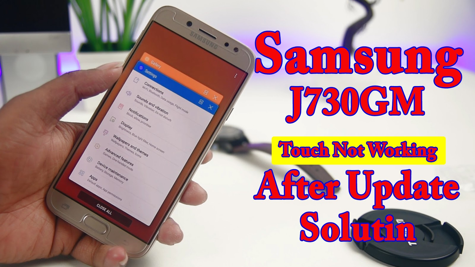 aungko: How To FIX Samsung Galaxy J7 Pro J730GM Touch Not