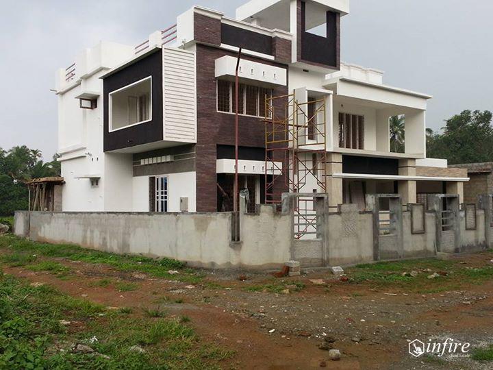 Newly Built Modern House For Sale at Thiruvalla, Pathanamthitta, Kerala