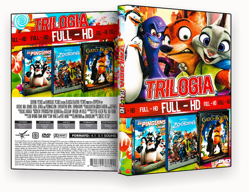 CAPA DVD – Triologia Full Hd Vol.20 – ISO
