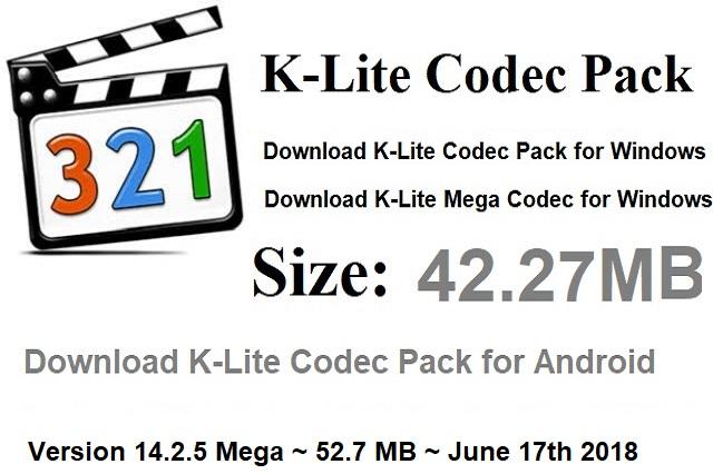 Lovely K Lite Codec Pack Download - resim