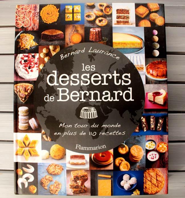 les desserts de bernard livre