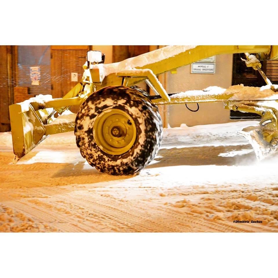 Σε κατάσταση έκτακτης ανάγκης η Χαλκιδική λόγω του χιονιά