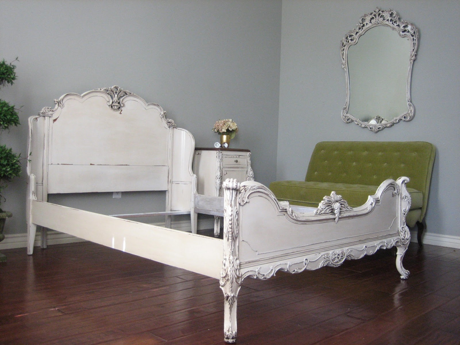 european paint finishes: ornate bedroom set ~