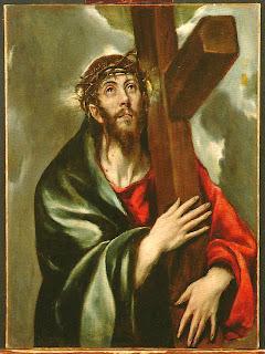 """""""Jesus Carregando a Cruz"""", El Greco"""