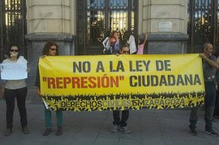 El Manifiesto por las libertades civiles trata de detener las derivas represivas en el Estado español y Europa
