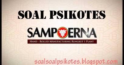 Contoh Soal Psikotes Psikologi Pt Hm Sampoerna Tbk Wawancara Kerja Download Kumpulan Soal