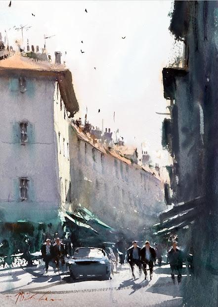 Joseph Zbukvic Watercolor Artist
