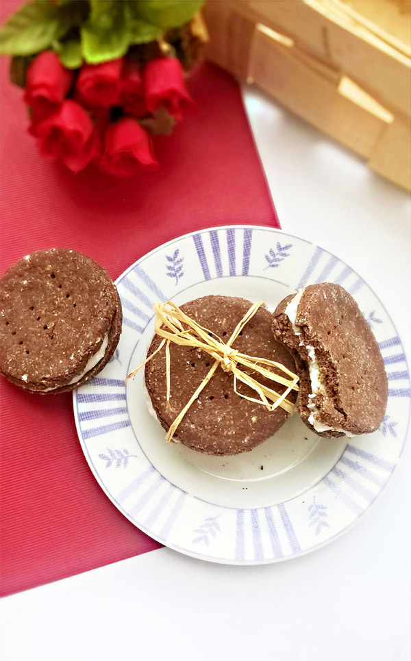 Domowe ciasteczka oreo