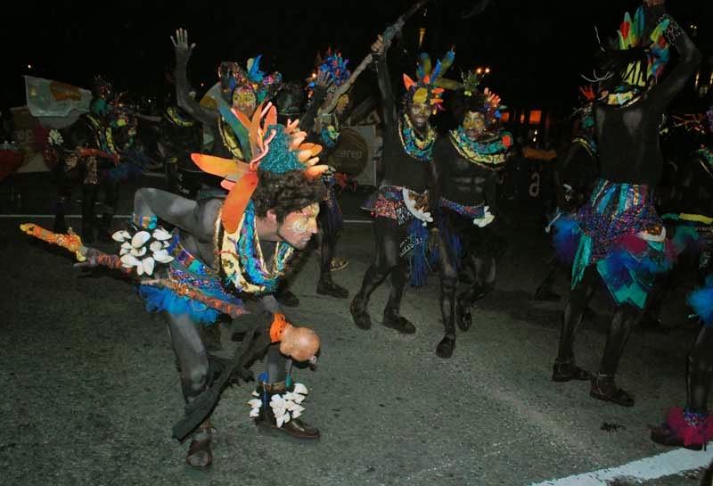 Desfile Inaugural del Carnaval. 2015. Cayó La Cabra.