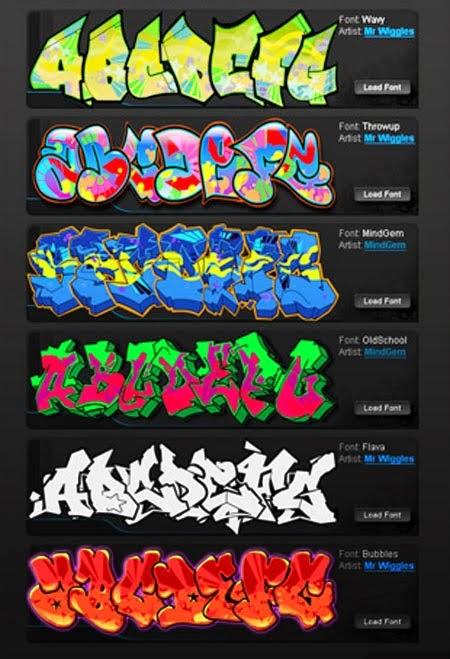font-styles-alphabet-cursive