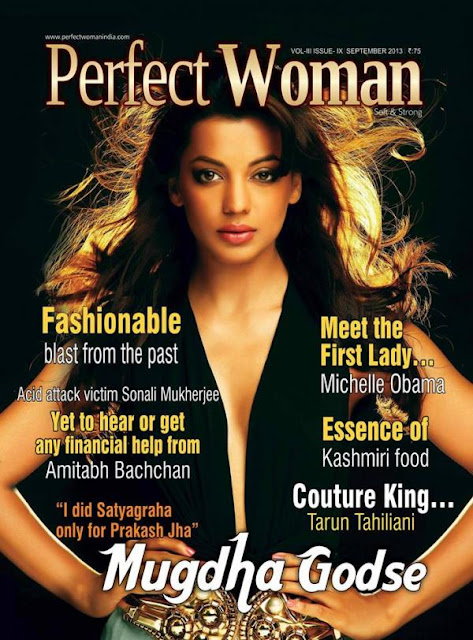 Mugdha Godse on the cover of Perfect Woman