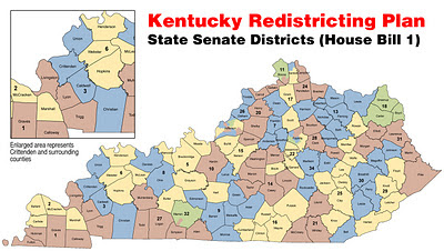 The Press Online Senate Plan Drastically Reshapes Districts