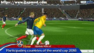 Download FTS World Cup Russia 2018 Mod by M Rafi Adz Apk Data Obb www.gapmod.com