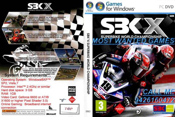 SBK X Superbike World Championship (PC GAME) Torrent Download