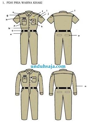 pakaian dinas pns 2016