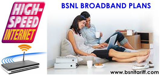 Unlimited BSNL Broadband plans bandwidth-download speed increased