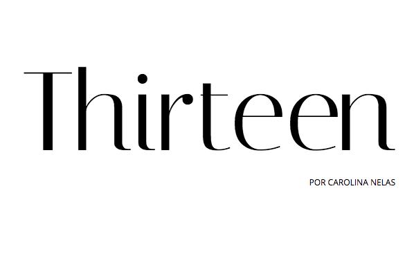 """5 coisas que adoro no blog """" Thirteen"""""""