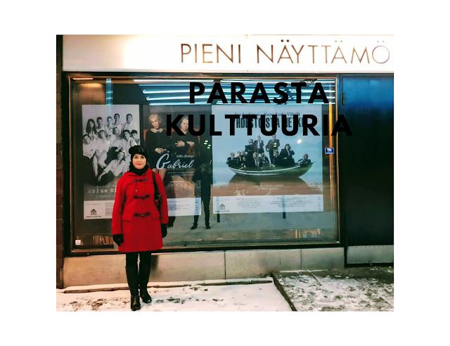 Mikä on hyvä teatteri Helsingissä