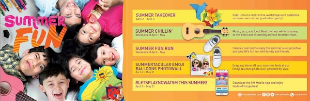 Learn and have fun this summer at SM Supermall