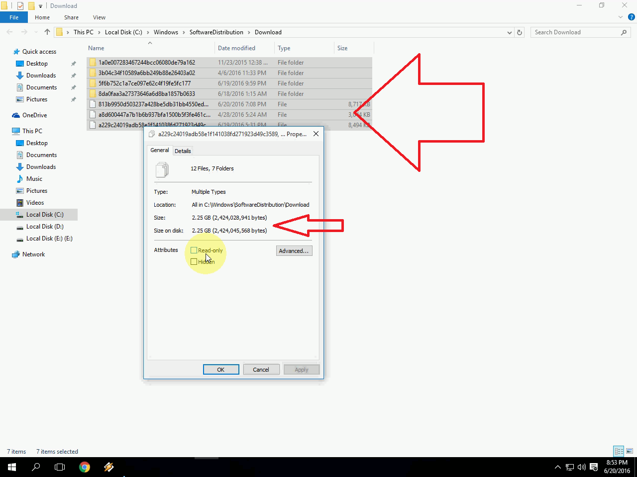 delete caches and make lot of free space in windows 10 pc
