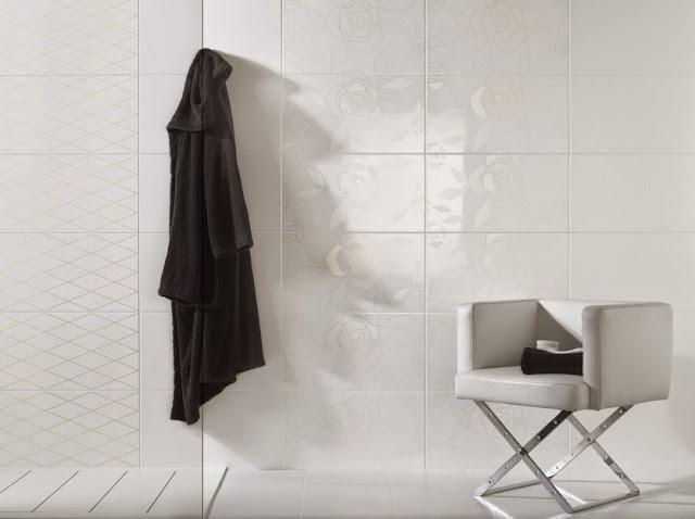 Azulejos blancos para ba os 9 ejemplos imprescindibles - Azulejos grandes ...