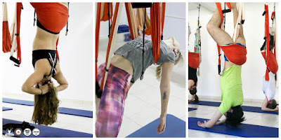 STAGE YOGA AERIEN