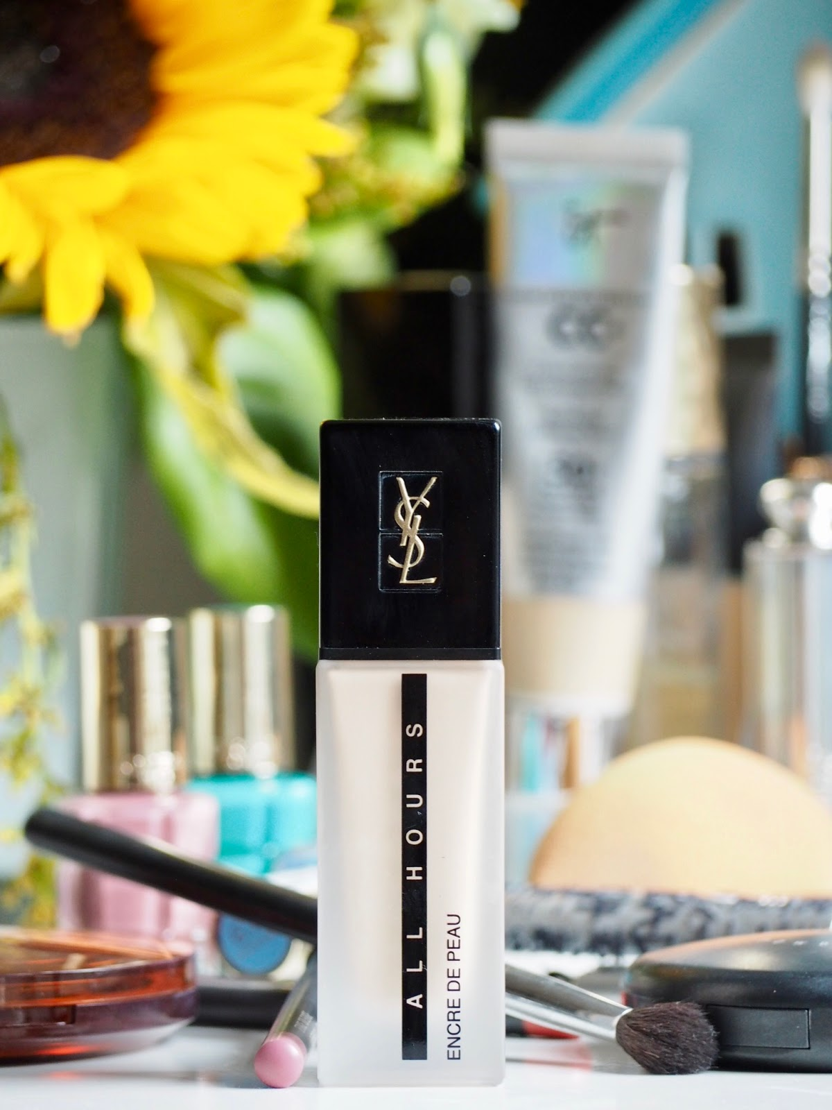 YSL All Hours Foundation Full Review + Swatches
