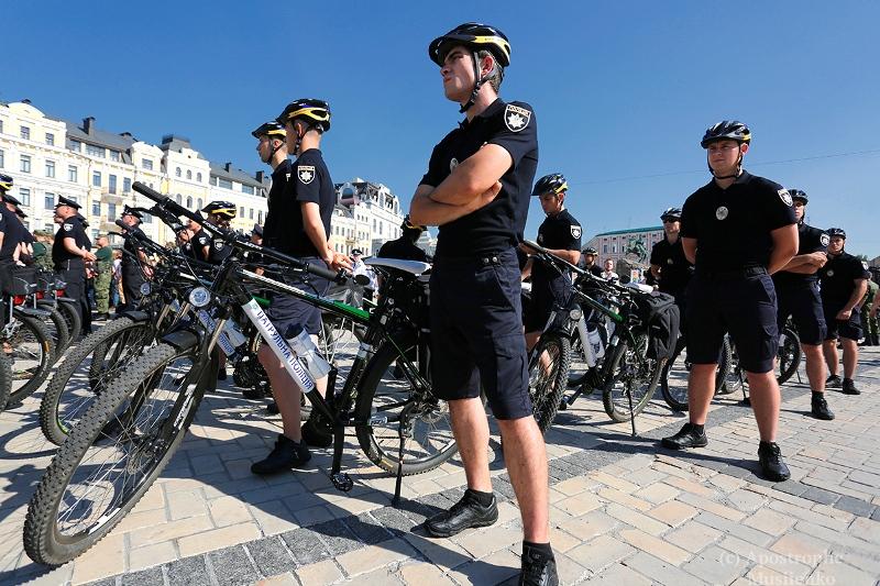 Патрульные на велосипедах