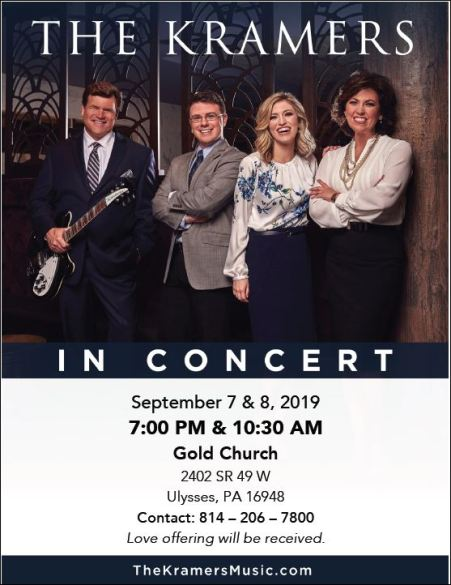 9-7/8 The Kramers in Concert, Gold Church