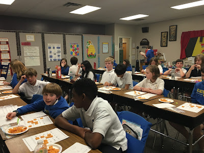 Montgomery Catholic 6th Graders Celebrate Square Root Day April 4, 2016 3