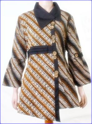Kumpulan gambar model baju batik resmi