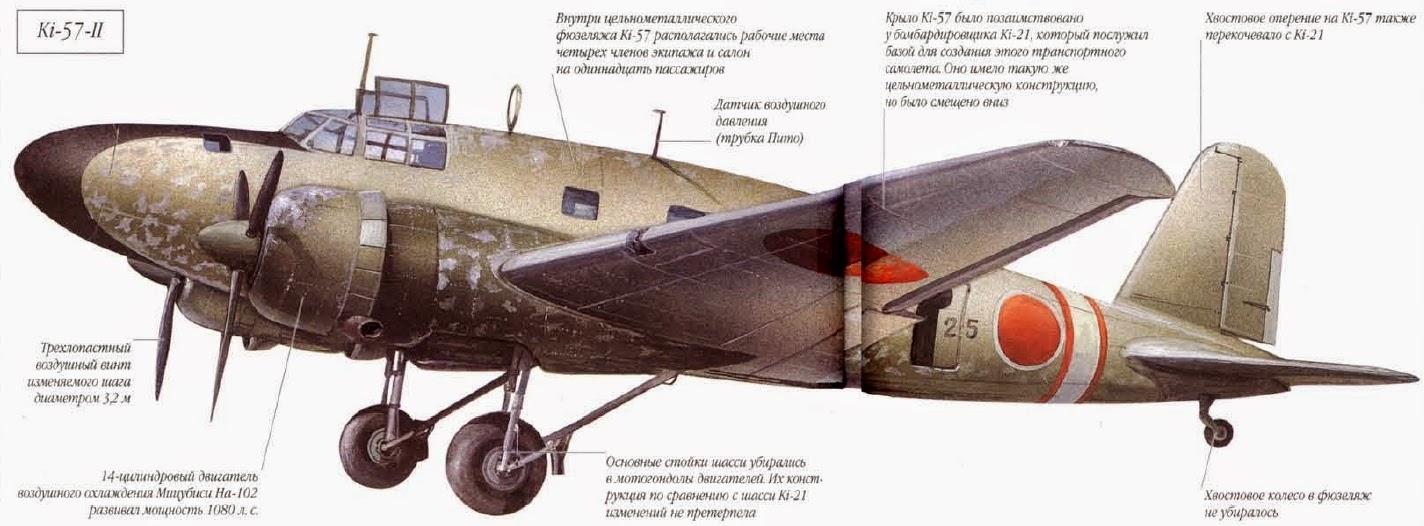 mitsubishi ki-57 topsy
