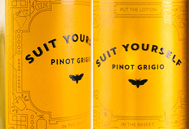 Suit Yourself Pinot Grigio
