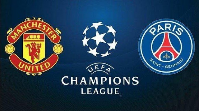 Match Manchester United vs Paris Saint Germain live streaming TV