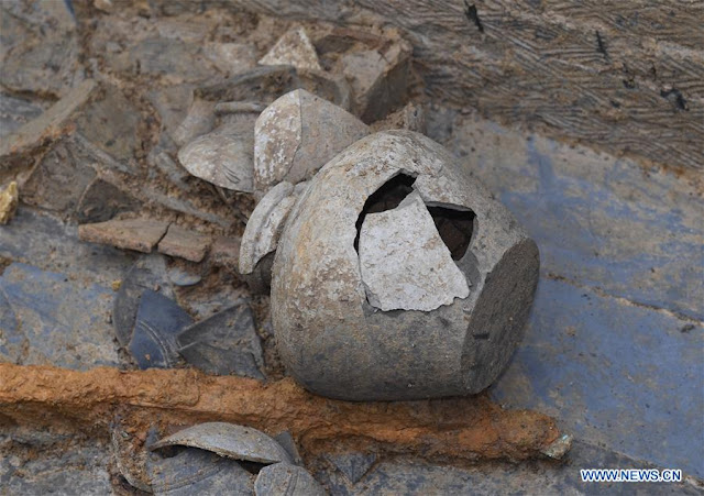 Tombs of the Eastern Han Dynasty discovered in China's Sichuan