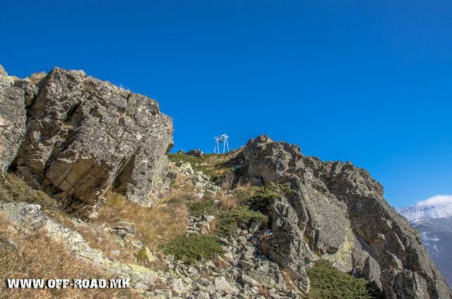 Поглед од Св. Спас во близина на село Маловиште, Општина Битола