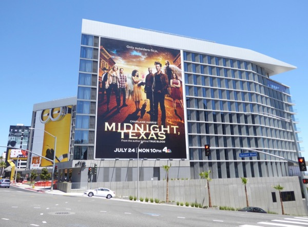 Giant Midnight Texas series billboard