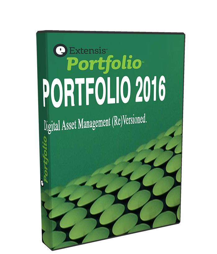 Extensis Portfolio 2016 2.5.3 poster box cover
