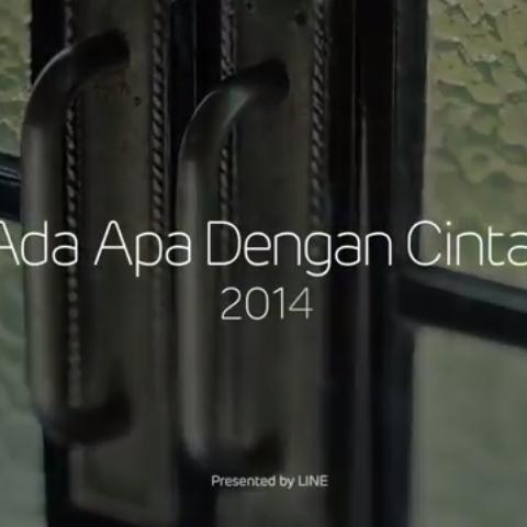 Mini Drama Ada Apa Dengan Cinta  2014 - Love, life, LINE