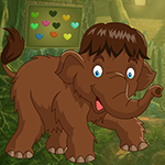 Games4King Brown Elephant Rescue