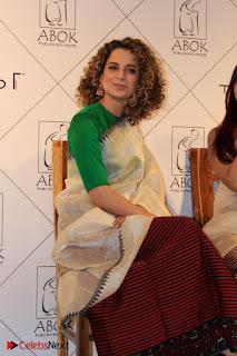 "Actress Kangana Ranaut Pos in Lehenga Choli at ""Between the Poet and her Pencil"" Book Launch  0004.jpg"