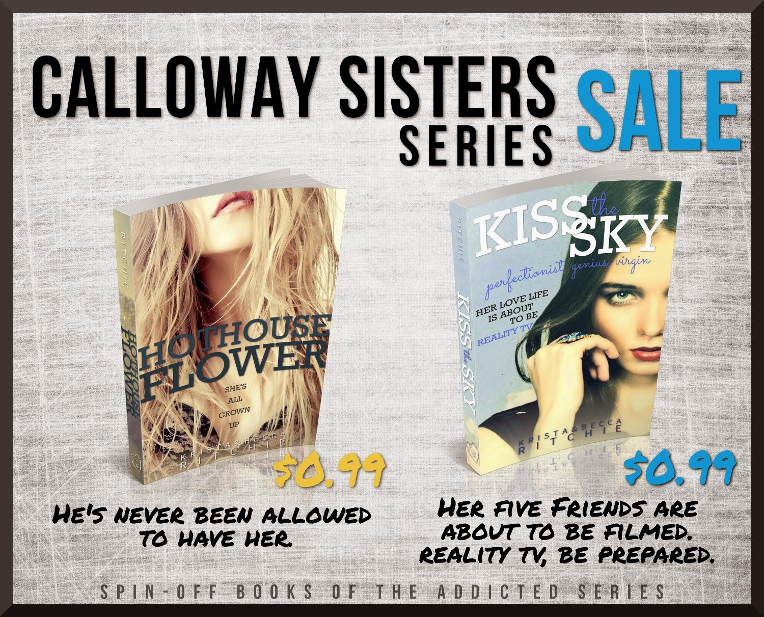 KISS THE SKY ➜ http://amzn.to/1kZzh3x ($0.99 SALE) HOTHOUSE FLOWER ➜  http://amzn.to/1pASCoD ($0.99 SALE)