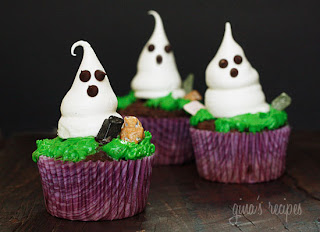 how to make meringue ghosts