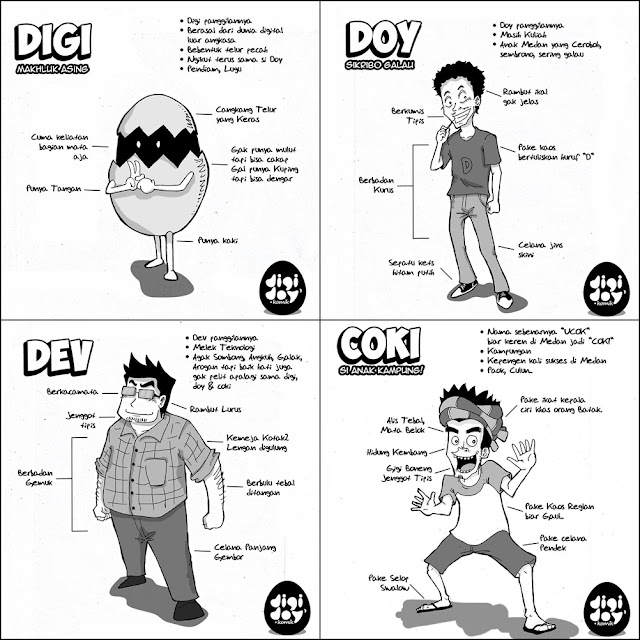 Digidoy Komik Medan
