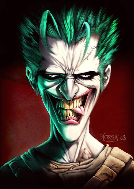 10 most scary joker illustration artworks janbein