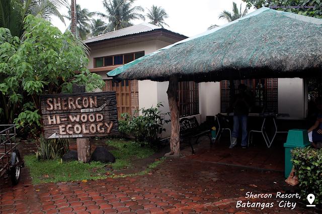 Receiving area of Shercon Resort.